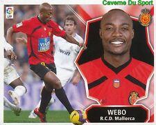 PIERRE WEBO CAMEROON RCD.MALLORCA STICKER LIGA ESTE 2009 PANINI