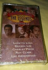 Brand New Christmas With The Legends Country Vintage Cassette Lee, Pride, Clark