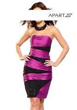 Neu mit Etikett Pailletten-Abendkleid von Apart, Gr. 38  pink-schwarz