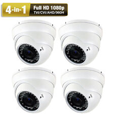 2.6Mp 1080P 4-in-1 960H Sony Cmos 36Ir Infrared Pm Vision Security Camera + Ac