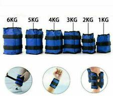 Ankle Weights Adjust Leg Wrist Strap Running Training Fitness Gym Straps 1-6KG