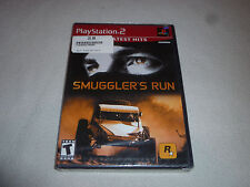 BRAND NEW FACTORY SEALED PLAYSTATION 2 GAME SMUGGLERS RUN PS2 NFS
