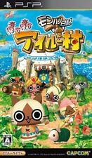 Used PSP Capcom MonHun Nikki Poka Poka Ailu Mura SONY PLAYSTATION JAPAN IMPORT
