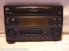 05 06 Nissan X-Trail Radio 6 Disc Cd Tape Face Plate CR05A 28188-EQ600 CY4160