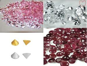Edible Cake Diamond Pearls Studs Cake Decoration Toppers 5mm