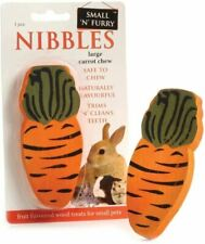 Sharples Carrot Wood Chew - Natural Fruit Flavoured Treat for Small Animals