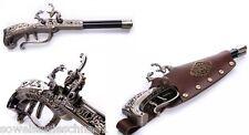 RQ-BL Steampunk Vintage Loki Feuerzeug Waffe Holster Pistol Gothic LARP Gun GM02