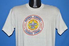 vtg 60s BSA BOY SCOUTS OF AMERICA NATIONAL JAMBOREE 1960 DEADSTOCK t-shirt M