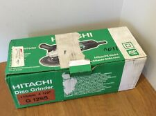 Hitachi G12SS 4 1/2in 115mm disc grinder 110V NEW IN BOX