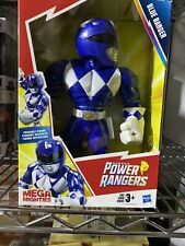 "Mega Mighties Power Rangers 10"" Blue Ranger Action Figure Mighty Morphin Power"