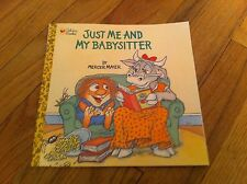 Little Critters I JUST FORGOT by MERCER MAYER Golden Book Classic PB Softcovrer