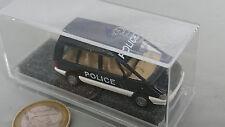Praline heut Busch 5505 Renault Espace Police H0 Hochdach 1:87 Polizeiauto OVP