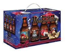 Frohe Weihnachten - Biergeschenk im 8er Geschenkkarton