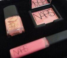 Nars Blush, Lip gloss and Nail Polish Set - Super Orgasm NIB - FAST SHIPPING!