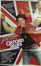 Oxford Blues Original Single Sided Movie Poster 1984 Rob Lowe