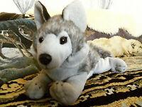 "Wildlife Artists 12"" plush stuffed Wolf Dog 2012 #1000"