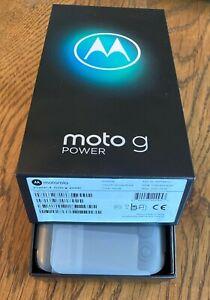 Motorola Moto G Power - 64GB - Smoke Black Google Fi