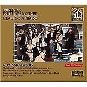Abbado Berlin PO - Rossini: Il Viaggio a Reims (1993) SBM 2 x CD Fatbox