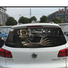 Rear Window Glass Windshield Reflective Cover Sticker Car Decals Emblem 130x70cm
