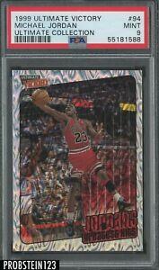 1999-00 Ultimate Victory #94 Michael Jordan Bulls HOF 33/100 PSA 9 MINT POP 1