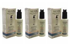 3 Nioxin Scalp Treatment 5 Medium Course Hair Normal Thin CHEMICALLY TREATED 1.7