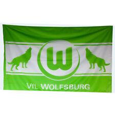 VfL Wolfsburg Fahne Offizielles Produkt Wetterfest 120x180 cm Ösen UVP 24,95 €