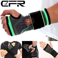 Wrist Support Hand Brace Palm Bandage Carpal Tunnel Tendonitis Pain Relief Gym