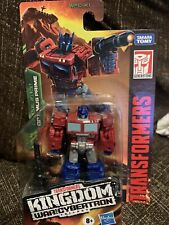 Transformers ~ OPTIMUS PRIME FIGURE ~ Core Class ~ Kingdom: War For Cybertron