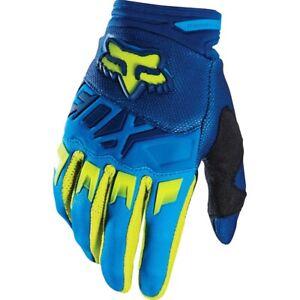 2020 Fox Racing Dirtpaw Race Gloves Motocross Dirtbike MTX Riding Blue/yellow