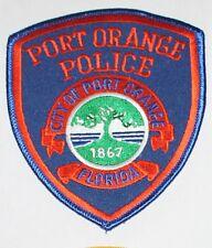 PORT ORANGE POLICE DEPT Florida FL Fla PD patch