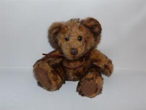 "HTF 7"" Dark Brown First & Main Teddy Bear Plush MINKY #1402 (*9b)"