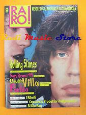rivista RARO 99/1999 Rolling Stones Claudio Villa Farida I Ribelli   No cd