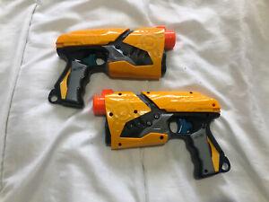 Nerf Gun X 2 Dart Tag Pump Action