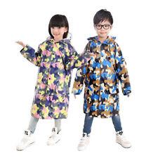 Kinder Camouflage Schultasche Bit Gesichtsschutz Regenjacke Wasserfeste Jacke