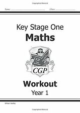KS1 Maths Workout - Year 1 New Paperback Book Richard Parsons