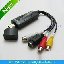 EasyCap Video And Audio Capturing Device+USB TV TUNER+ TV DVD VHS Capture Card