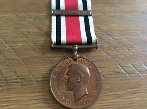 Police Special constabulary Long Service medal, Charles S Tuley