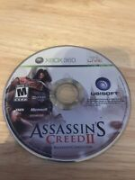 Assassin's Creed II (Microsoft Xbox 360, 2009) Working Game Only