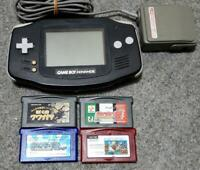 Nintendo Game Boy Advance Black from jAPAN Four soft set