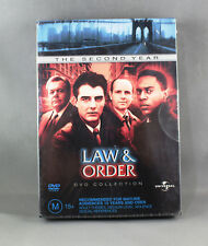 """LAW & ORDER """"THE SECOND YEAR"""" (2004 - DVD COLLECTION) BRAND NEW/SEALED R4 PAL"""