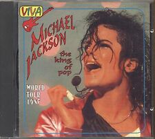 MICHAEL JACKSON ‎– The King Of Pop World Tour 1987 - CD 1994 USATO OTTIME COND.