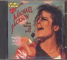 MICHAEL JACKSON – The King Of Pop World Tour 1987 - CD 1994 USATO OTTIME COND.