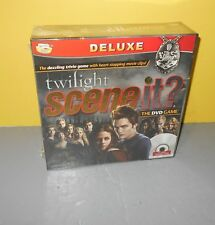 Scene It? Twilight Deluxe Edition NIB Sealed Game Family Fun Night Game Night