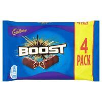 Cadbury Boost British Chocolate Bar 4 Pack (160g)