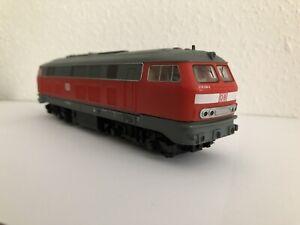 PIKO Diesellokomotive DSS BR 218 296-2 der DB rot Diesellok Modelleisenbahn H0