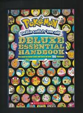 Pokemon Deluxe Essentials Handbook 2015 Scholastic Guide Book Pikachu