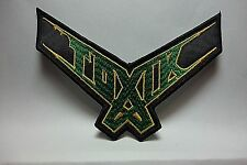 toxic  logo     EMBROIDERED  PATCH