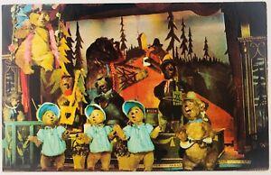 Vintage Florida Walt Disney World The Country Bear Jamboree 1970's