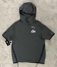 Nike NFL Patriots Super Bowl LIII 53 Sideline Hoodie Tech Fit Cq8088 082 Sz M