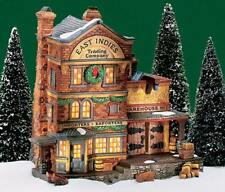 Dept 56 EAST INDIES TRADING CO Christmas Lighted Snow Village House 58302 Lemax